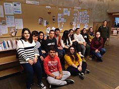 13 de diciembre de 2017. Visita y Formación de los alumnos de Formación Profesional del colegio de las Trinitarias de Salamanca.