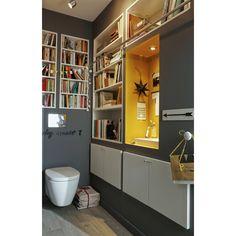 Wc suspendu on pinterest habillage wc suspendu lave main and toilette design - Habillage wc suspendu leroy merlin ...