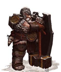 m Elmo da combattimento nano Scudo elmo Oread – Dio Mahesa Fantasy Heroes, Fantasy Races, Fantasy Armor, High Fantasy, Dnd Characters, Fantasy Characters, Fantasy Figures, Dwarf Paladin, Cleric