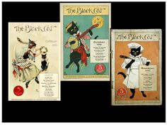 Here Pussy, Pussy. Salem House Press's Arkham: Tales From the Flipside is not the first magazine from Salem. Take a look at these cov. Cat Magazine, The 5th Of November, New Age, Illustrator, Cats, House, Black, Gatos, Home