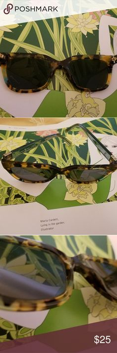 Tory Burch Sunglasses Beautiful tortoise shell frames from designer Tory Burch. They are clearly marked and have serial number.  These are prescription lens sunglasses so you would have to replace the lenses but that can be done at any eyeglass shop. Tory Burch Accessories Sunglasses