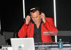 Bruce Campbell attends the 2012 New York Comic Con at the Javits Center on October 13, 2012 in New York City.