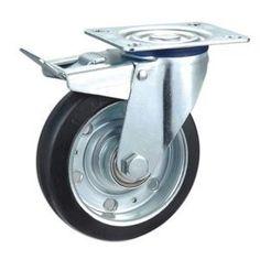 Descripción:  Ruedas de goma nucleo de acero,Núcleo de acero del echador de goma elastica  Material: caucho  Tamaño: opción: 100mm x 32mm, 125mm x 38mm  Carga: 130kg ~ 160kg  Tipo: ruedas giratorias, ruedas fijas, las ruedas con doble cojinete de bolas  Propósito: Trolley ruedas, carrito de ruedas, ruedas industriales www.casterwheelsco.com ; sales@casterwheelsco.com