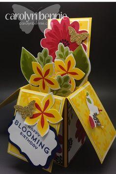 Card in a box carolynbennie.com