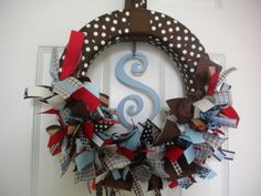 Adorable wreath for Brantley