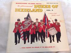 The Dukes Of Dixieland, Marching Along With The Dukes Of Dixieland, Vol 3,LP Vin…