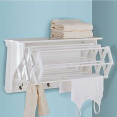 Accordion Drying Rack- great for a tiny home!