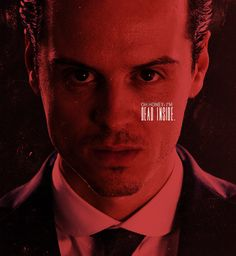 Just his face makes me cringe. << ....or drool. Why am I attracted to psycho villains? ex - Loki, Moriarty, Khan