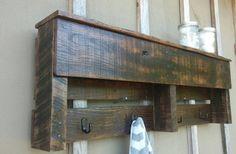 Pallet Shelf Primitive Rustic Home Decor by SawmillCreations
