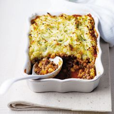 The secret ingredient in this quick cottage pie is a tin of baked beans. This comfort food recipe can easily be doubled up if your feeding friends and family.