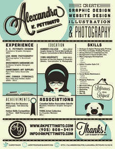 Graphic Design Resume 30 Examples Of Creative Graphic Design Resumes Infographics