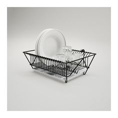The wall-mountedFintrop dish drainerfrees up valuable counter space; $14.99 from Ikea.