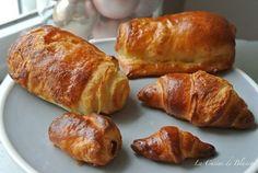 Pains au chocolat , mini Croissants  (Version 2)