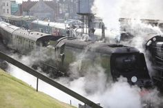 PICTURES: History made as first passenger trains for 44 years run from Swanage to Wareham (From Bournemouth Echo)