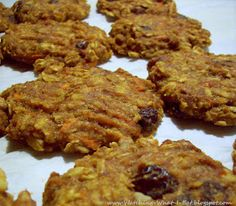 Watching What I Eat: Carrot Cake Breakfast Cookies with Pineapple Cream Cheese Icing ~ a fun spin on my original Banana Oat Breakfast Cookies
