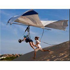 Wow... Hang gliding at Kill Devil Hills, North Carolina