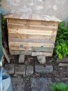 Bac à compost / Pallet Compost Bin
