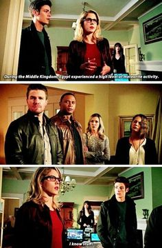 Arrow and Flash crossover Arrow Cw, Team Arrow, Arrow Quote, Arrow Oliver, Oliver And Felicity, Felicity Smoak, Arrow Felicity, The Cw Shows, Dc Tv Shows
