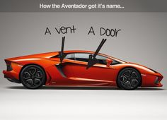 How The Aventador Got Its Name Car Jokes Lamborghini Super Cars