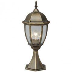 Sockelleuchte Jopling Marlow Home Co. Bollard Lighting, Pathway Lighting, Gate Post, Lantern Post, Fashion Lighting, Shape Coding, Marlow, Design Case, Glass Panels