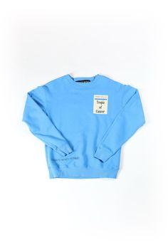 6f985213c  Enfants Riches Deprimes   01 clothing   04 knitwear   03 sweatshirt   Tropic of Cancer Crewneck
