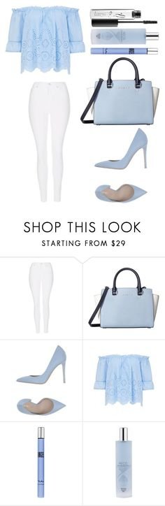 Untitled #2269 by ordinarydays ❤ liked on Polyvore featuring Topshop, MICHAEL Michael Kors, Le Silla, Thierry Mugler, AEOS and MAC Cosmetics
