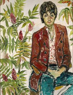 John Bratby: He was a sex-obsessed alcoholic bully who painted psychedelic portraits of the Sixties' biggest stars – and gave the Queen a black eye John Bratby, John Minton, English Artists, British Artists, Beatles Art, Art For Art Sake, Portraits, Paul Mccartney, Art Inspo