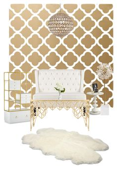 """""""Living room for my apartment"""" by rashelle-horejsi on Polyvore featuring interior, interiors, interior design, home, home decor, interior decorating, Kate Spade, UGG Australia, Safavieh and Redford House"""