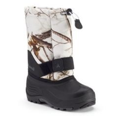 Kamik Rocket2 Realtree Camo Boys' Waterproof Winter Boots