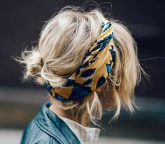 Bandana Hairstyles for summer! how to style a bandana in your hair for every day. Hair styles for girls.