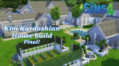 The Sims 4 - Kim Kardashian House build - House Tour (Final!)