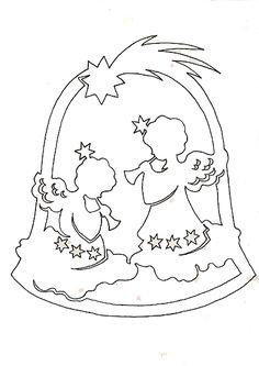 Scroll Saw Ornaments Christmas Stencils, Christmas Paper Crafts, Christmas Templates, Christmas Printables, Holiday Crafts, Christmas Diy, Christmas Ornaments, Scroll Saw Patterns, Scroll Design