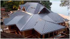 Metal roofing is process of roofing which can be done by using different metal material like Tin, Aluminium etc. It helps fire resistance and heat conduction. #roofs #roofing #metalroofing