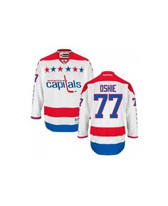 d473835c7 Oshie White Alternate Jersey to let you choose for. As a real Washington  Capitals fan