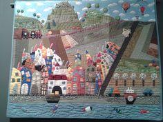 Esposizione capolavori in patchwork