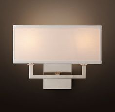 upstairs sconce option, Nolan Double Sconce