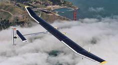 vliegtuig op zonnepanelen - Google Search