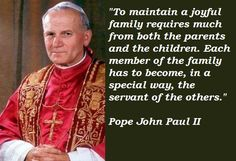 POPE JOHN PAUL II QUOTES image quotes at relatably.com