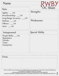 12 best blank oc sheet images on pinterest character design