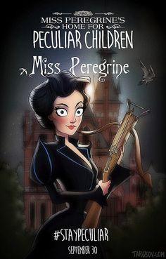 Miss Peregrine de Tim Burton par Andrew Tarusov