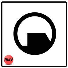 Black Mesa Game logo, Half Life Stickers, Large Wall art