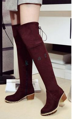 9f22f6c64576 Ladies Women Shoes Over The Knee High Boots High Heel Casual Shoes Fashion