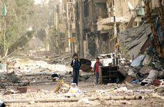 Disperazione e distruzione in Siria