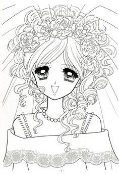 Japanese Shoujo Coloring Book 3 - Mama Mia - Веб-альбомы Picasa