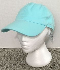 Women's Lacoste Tie Back Hat Cap Blue New With Tags #Lacoste #TieBack
