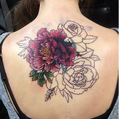 chrysanthemum tattoo colors - Google Search