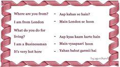 Learn Hindi through English - Meeting People English Speaking Book, English Learning Spoken, Learn English Grammar, Learn English Words, Teaching English, Learning Languages Tips, Hindi Language Learning, Sms Language, English Sentences