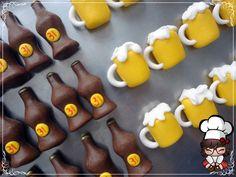 Doces modelados, Shaped candy, Sweet, Leite em pó, Leite Ninho. Pagina: Monike Doces Artesanais. TEMA CERVEJA