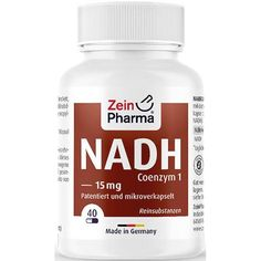 NADH MICRO effect capsules 15 mg 30 pc coenzyme generation of energy in the cells UK Ischemic Heart Disease, Bodybuilding Supplements, Oxidative Stress, The Cell, Capsule, Raw Materials, Healthy Lifestyle, Diet, Pure Products