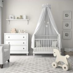 Your little ones might not remember what their nurseries looked like, but you will. Here's some inspiration for neutral nurseries that will complement the rest of your home's decor.